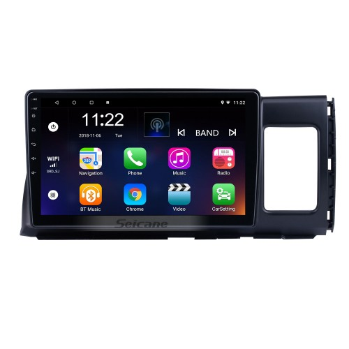10.1 inch Android 10.0 for 2006 Toyota Wish Radio GPS Navigation System With HD Touchscreen Bluetooth support Carplay OBD2
