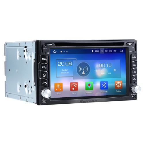 Android 8.0 Radio GPS Navigation System for 2007-2010 Nissan QASHQAI with WIFI Bluetooth Mirror link Touch Screen DVR TV OBD2 4G USB SD Rearview Camera 1080P Video
