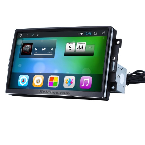 9 inch Android 4.4  2004-2007 Jeep Cherokee Commander Compass Patriot Wrangler GPS Navigation System with Bluetooth 1024*600 Touch Screen TV Tuner USB AUX MP3 Steering Wheel Control Quad-core CPU Dual Zone