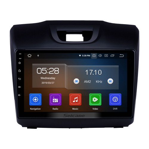 OEM 9 inch Android 9.0 Radio for 2015 2016 2017 2018 ISUZU D-Max Bluetooth Wifi HD Touchscreen GPS Navigation Carplay USB support 4G SWC RDS OBD2