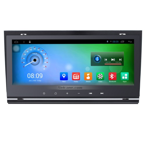 8.8 Inch 1280*480 Android 7.1 TouchScreen Radio for 2002-2008 Audi Allroad A4 S4 RS4 with bluetooth GPS Navigation system Bluetooth TPMS DVR OBDII WiFi Steering Wheel Control