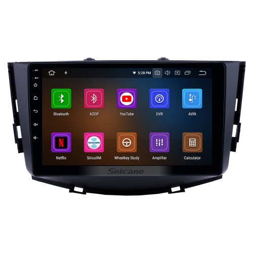 9 inch Android 9.0 2011-2016  Lifan X60  Radio  in Dash Bluetooth GPS Car Audio System WiFi support 3G Mirror Link OBD2 Backup Camera MP3 MP4 DVR AUX DVD Player