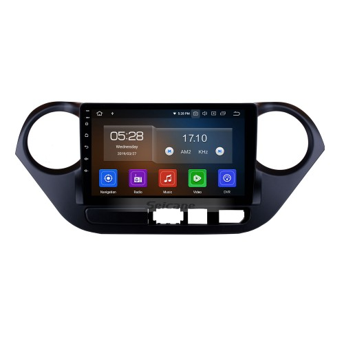 9 inch Android 10.0 GPS Navigation System HD Touch Screen Radio 2013-2016 Hyundai I10 (LHD) Support OBD2 Bluetooth DVD Player DVR Rearview Camera TV Video Steering Wheel Control WIFI