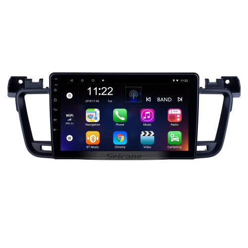 Android 10.0 HD Touchscreen 9 inch for 2011 2012 2013-2017 Peugeot 508 Radio GPS Navigation System with Bluetooth support Carplay TPMS