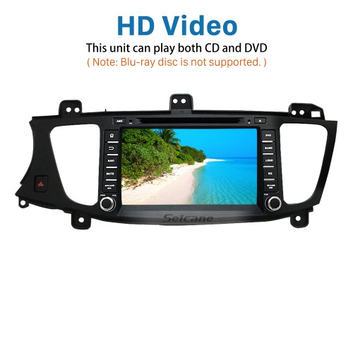 Android 7.1 Radio GPS DVD Player for 2009-2012 KIA Cadenza with HD 1024*600 touch screen Bluetooth navigation system OBD2 DVR Rearview camera TV 1080P Video 3G WIFI Steering Wheel Control USB SD Quad-core CPU Mirror link