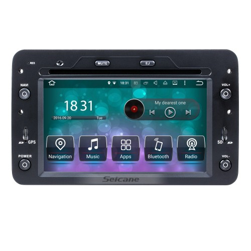 Android 8.0 HD Touchscreen In Dash Radio DVD Player For 2006-2013 Alfa Romeo Spider GPS Navigation Bluetooth Music WIFI Support Steering Wheel Control Rearview Camera OBD2 AUX