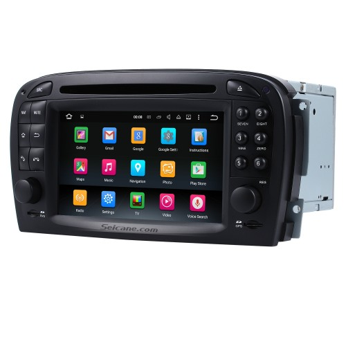 Android 9.0 Car dvd player for Mercedes SL R230 SL350 SL500 SL55 SL600 SL65 with GPS Radio TV Bluetooth