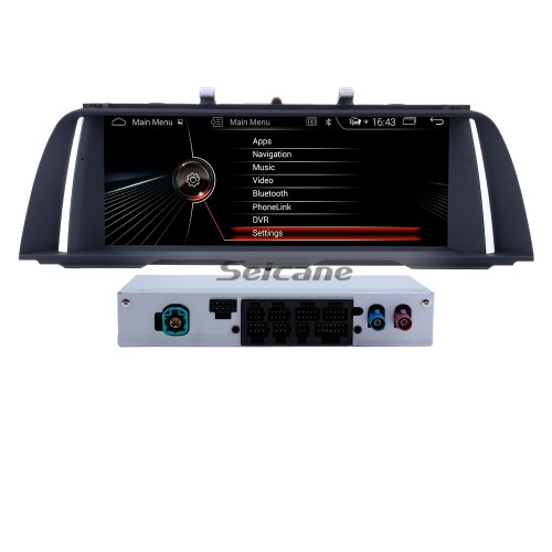 10.25 Inch Android 9.0 HD Touchscreen In Dash Radio Head Unit For 2011 2012 BMW 5 Series F10/F11 CIC Car Stereo GPS Navigation System Bluetooth Phone MP3 WIFI Support Backup Camera Steering Wheel Control