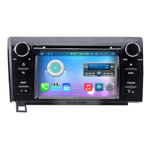 Android 6.0 Aftermarket DVD Player GPS Navigation System For 2008-2015 Toyota Sequoia Support Radio Bluetooth WIFI Rearview Camera TV Tuner USB SD 1080P Video DVR