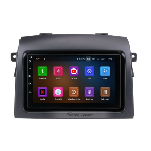 Android 9.0 GPS Navigation System For 2004-2010 Toyota Sienna With Backup Camera HD Touch Screen 3G WIFI Steering Wheel Control Bluetooth
