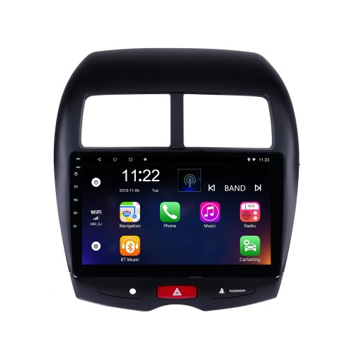 10.1 inch Android 8.1 HD touchscreen 2012 CITROEN C4 GPS Navigation Radio with Bluetooth WIFI support Steering Wheel Control Backup Camera