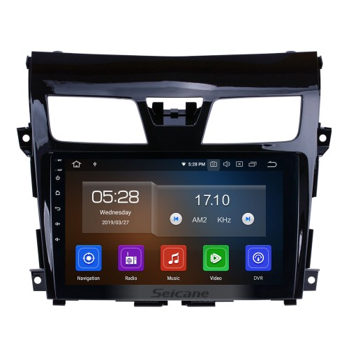 9 inch 2013-2017 Nissan Teana Android 9.0 Autoradio GPS Navigation System 3G WiFi TV Canbus USB Backup Camera Mirror Link HD 1080P Video