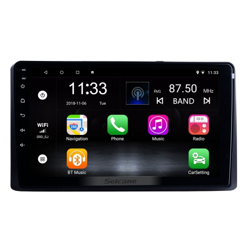 HD Touchscreen 9 inch for 2014 2015 2016-2019 Kia Carnival/Sedona Radio Android 10.0 GPS Navigation System with Bluetooth support Carplay