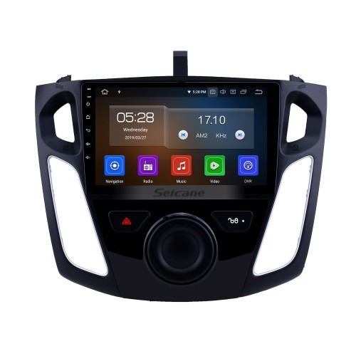 Android 10.0 9 inch for 2012-2015 Ford Focus HD Touchscreen GPS Navigation Radio with Bluetooth USB Music Carplay WIFI support Mirror Link Rearview camera