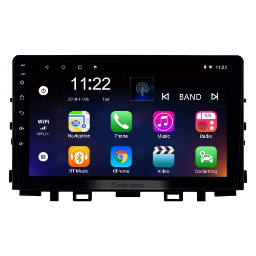 Android 8.1 9 inch HD Touchscreen GPS Navigation Radio for 2017 2018 2019 Kia Rio with Bluetooth USB WIFI support Carplay Digital TV Mirror Link