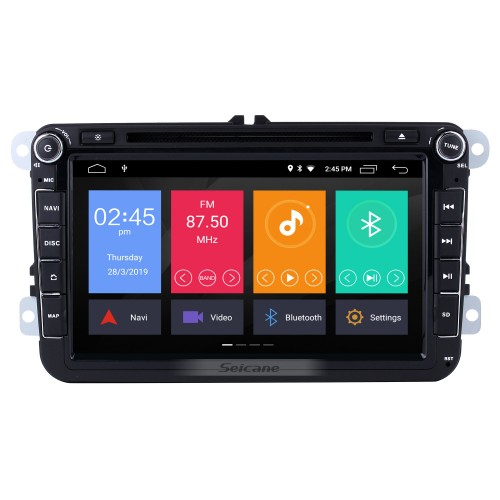 Android 10.0 8 inch HD Touchscreen DVD Player for 2006-2012 VW VOLKSWAGEN MAGOTAN GPS Navigation Radio USB WIFI Bluetooth Mirror Link 1080P