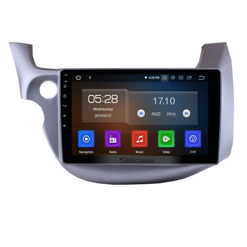10.1 inch Android 10.0 GPS  Radio Car Stereo for 2007-2013 Honda FIT left hand driver WIFI Bluetooth Mirror Link  HD 1024*600 Touch Screen SWC Navigation System OBD2 DVR  Rearview Camera TV USB 1080P Video