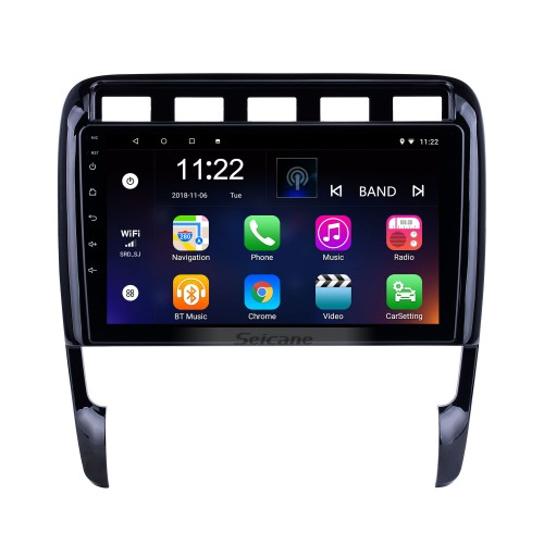 Android 10.0 HD Touchscreen 9 inch for Porsche Old Cayenne Radio GPS Navigation System with Bluetooth support Carplay TPMS