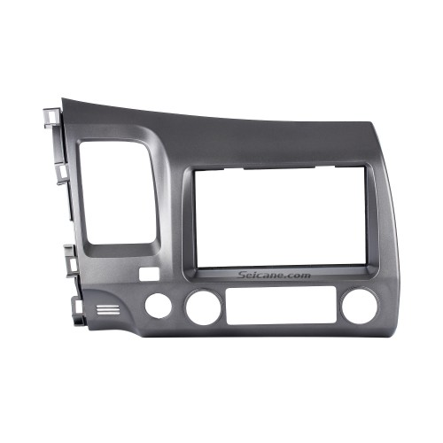 Special 2Din 2008-2011 Honda Civic LHD with SRS Hole Car Radio Fascia Installation Trim Dash Kit Radio Frame Auto Stereo