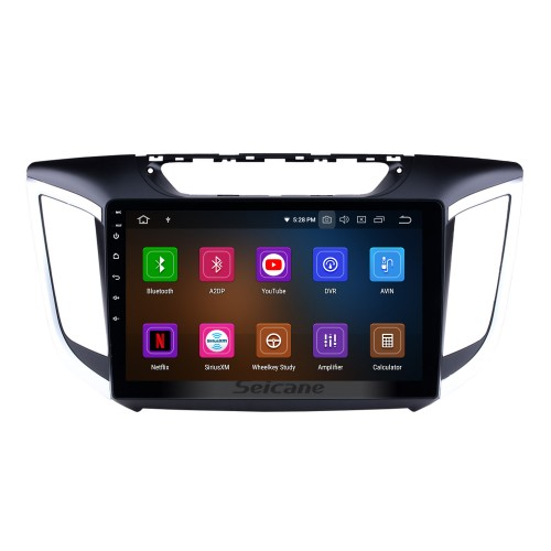 Android 5.0.1 1024*600 Touchscreen Radio for 2014 2015 HYUNDAI IX25 Creta with Bluetooth GPS Navigation 4G WIFI Steering Wheel Control OBD2 Mirror Link