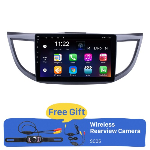 Android 8.1 10.1 inch 2011-2015 Honda CRV HD 1024*600 Touchscreen Radio GPS Navigation system with Bluetooth DVR WIFI Mirror Link 1080P Steering Wheel Control