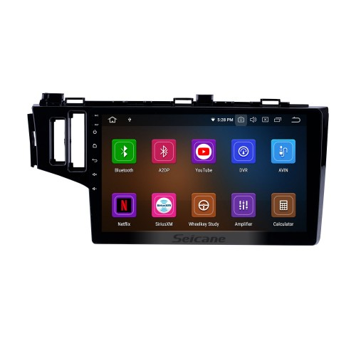 10.1 inch 2013-2015 Honda Fit LHD Android 9.0 GPS Navigation Radio Bluetooth WIFI Touchscreen Carplay support DVR