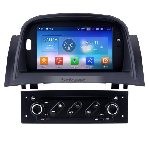 Android 8.0 HD Touchscreen for 2004-2009 Renault Megane II with Radio DVD GPS Navigation System Bluetooth 4G WIFI Backup Camera Steering Wheel Control