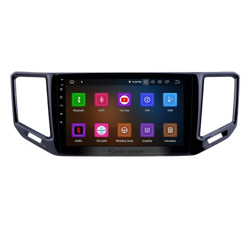 10.1 inch 2017-2018 VW Volkswagen Teramont Android 9.0 GPS Navigation Radio Bluetooth HD Touchscreen AUX USB WIFI Carplay support OBD2 1080P