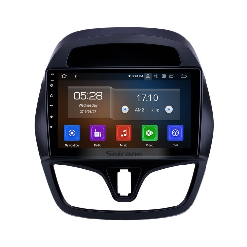 2015-2018 chevy Chevrolet Spark Beat Daewoo Martiz Android 9.0 9 inch GPS Navigation Radio Bluetooth Touchscreen Carplay support TPMS 1080P