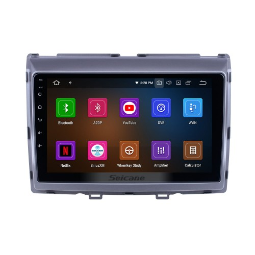 9 inch For 2011 Mazda 8 Radio Android 10.0 GPS Navigation System with USB HD Touchscreen Bluetooth Carplay support OBD2 DSP