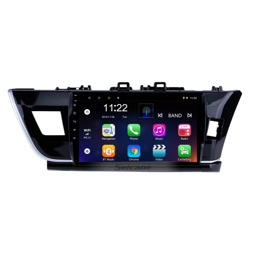 10.1 Inch HD touchscreen Radio GPS Navigation System For 2014 Toyota Corolla RHD Bluetooth Support Steering Wheel Control Touch Screen 3G WiFi Carplay