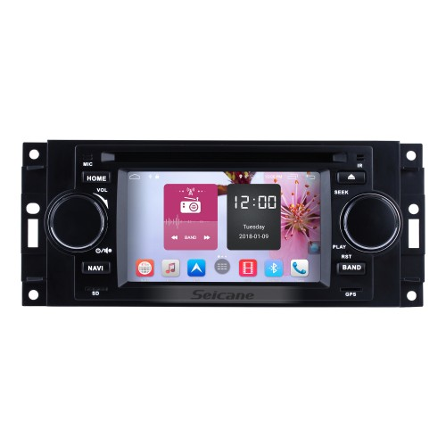 Android 6.0 HD Touchscreen Car Radio For 2002-2007 CHRYSLER 300C DVD Player GPS Navigation System Bluetooth Phone Music WIFI Support Digital TV DVR USB DAB+ OBDII Steering Wheel Control Backup Camera