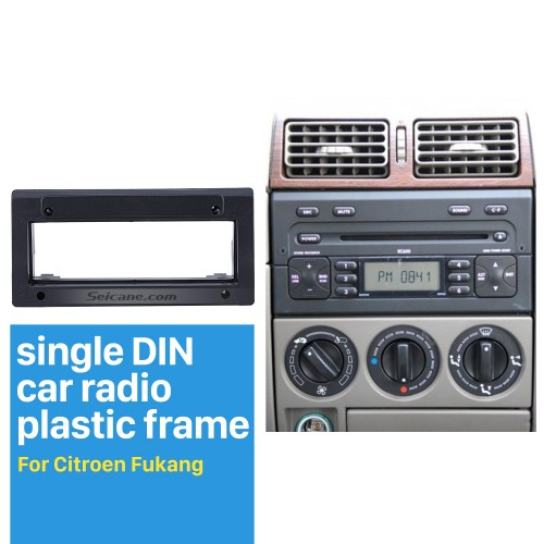 Hot Sell 1Din Citroen Fukang Car Radio Fascia Dash Trim Kits Frame Panel Audio Player Face Plate