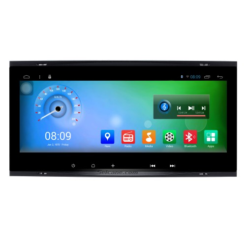 8.8 inch Android 7.1 2009 2010 Volksworgen T5 Multivan GPS Navigation System with Touch Screen 3G WiFi Capacitive Rear camera AUX Steering Wheel Control USB Bluetooth 1080P TPMS DVR OBDII