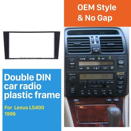 Fabulous 2Din 1996 Lexus LS400 Car Radio Fascia Audio Fitting Adaptor Panel Plate Frame Trim Bezel
