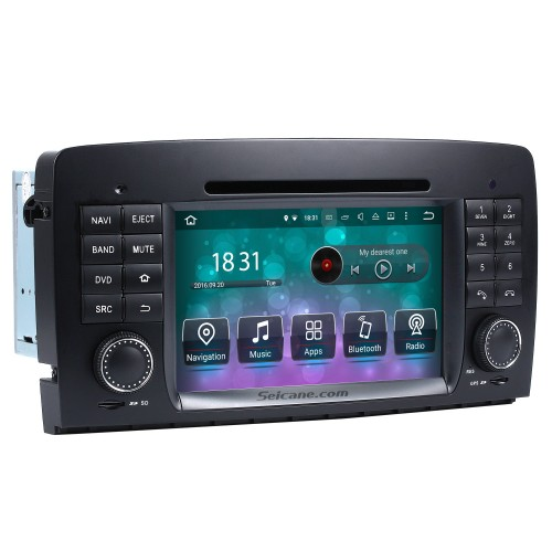 Android 8.0 GPS Navigation system for 2006-2012 Mercedes-Benz R class W251 R280 R320 R350 R500 with DVD Player Touch Screen Radio Bluetooth WiFi TV Backup Camera steering wheel control HD 1080P Video USB SD