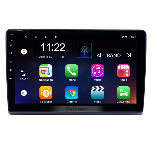 10.1 inch Android 8.1 GPS Navigation Radio for 2009-2019 Ford New Transit with HD Touchscreen Bluetooth support Carplay Steering Wheel Control