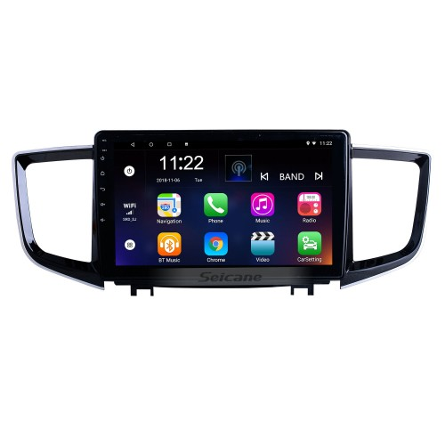 HD Touchscreen 10.1 inch Android 10.0 for 2016 Honda Pilot Radio GPS Navigation System with Bluetooth support Carplay DAB+