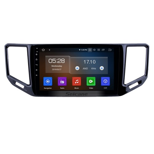 10.1 inch Android 9.0 Radio for 2017-2018 VW Volkswagen Teramont Bluetooth HD Touchscreen GPS Navigation Carplay USB support TPMS DAB+ DVR