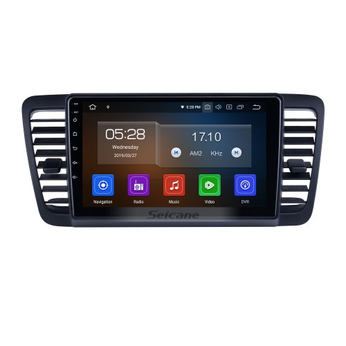 For 2004-2007 2008 2009 Subaru Legacy Radio HD Touchscreen 9 inch Android 10.0 Bluetooth with GPS Navigation System Carplay support 1080P