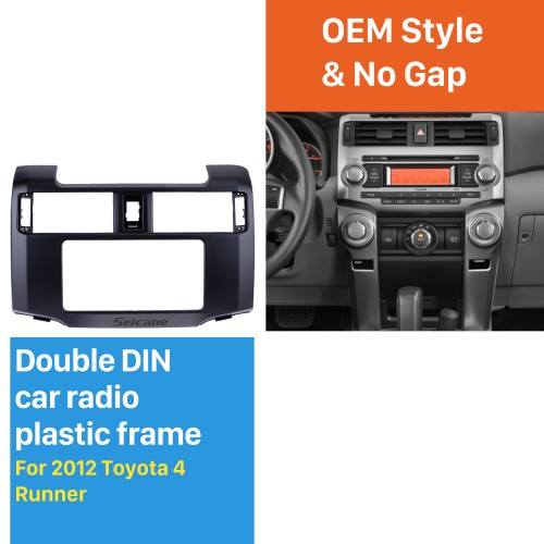 Well-designed Double Din 2012 Toyota 4 Runner Car Radio Fascia Stereo Dash Kit Face Plate Panel Frame