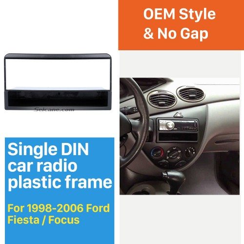 Perfect 1Din Car Radio Fascia for 1998-2006 Ford Fiesta Focus Auto stereo Adapter Car Styling DVD Frame