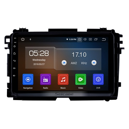 9 inch 2015-2017 HONDA VEZEL XVR Android 10.0 GPS Navigation System with Bluetooth WIFI Radio support OBD2 USB Backup Camera Didital TV Steering wheel Control Mirror Link