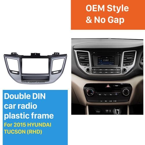 Fabulous Separate 2 Din 2015 HYUNDAI TUCSON RHD Car Radio Fascia Install Frame CD Trim Dash Mount