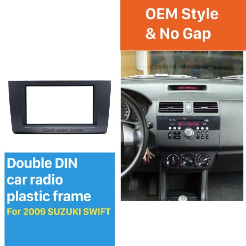 Wonderful Double Din 2009 Suzuki Swift Car Radio Fascia Stereo Dash Trim Install Frame Face Plate