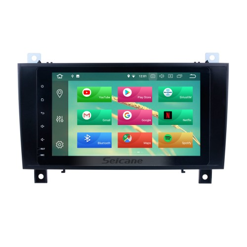 Android 8.0 8 inch for 2000 2001 2002-2011 Mercedes SLK Class R171 SLK200 SLK280 SLK300 SLK350 SLK55 Radio GPS Navigation with HD Touchscreen Bluetooth USB Carplay support 1080P Video