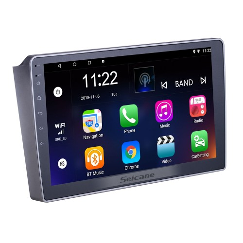 10.1 inch Android 8.1 for 2007 2008 2009-2012 Lifan 520 Radio GPS Navigation System With HD Touchscreen Bluetooth support Carplay DVR