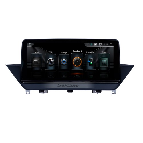 10.25 Inch HD Touchscreen Android 9.0 2009-2015 BMW X1 E84 Car Radio Head Unit GPS Navigation Bluetooth Support Rearview Camera Steering Wheel Control USB WIFI Mirror Link OBD2