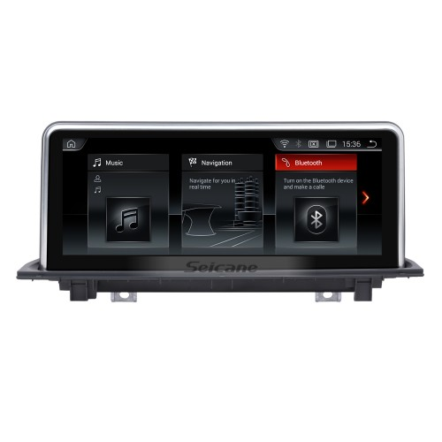 For BMW X1 F48(2018-) EVO Radio 10.25 inch Android 10.0 HD Touchscreen GPS Navigation System with Bluetooth support Carplay OBD2