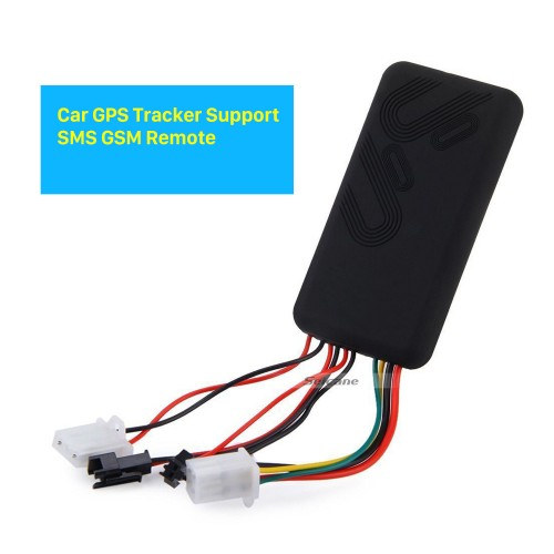 Car GPS Location Tracker Support SMS GSM Tracking Alarm Device Remote Control Locator